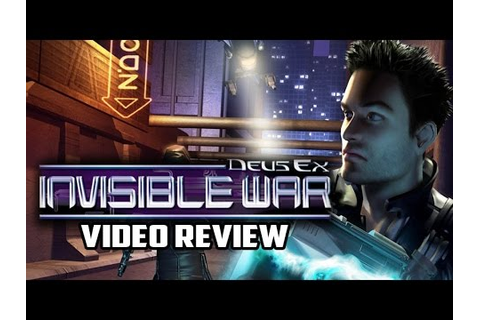 Deus Ex: Invisible War PC Game Review - YouTube