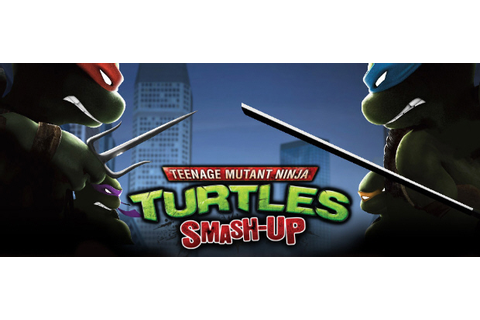 Official TMNT: Smash Up character list for the Wii game