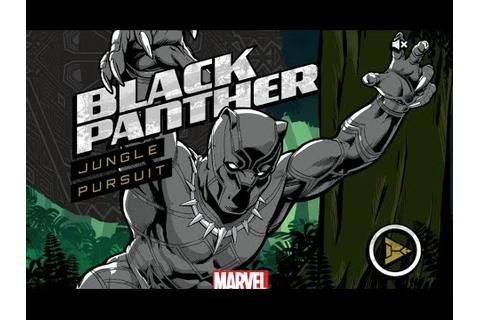 Black Panther - Jungle Pursuit (Full Game) - YouTube