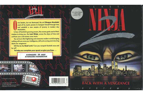 Last Ninja 2: Back with a Vengeance | 80'S Top Games