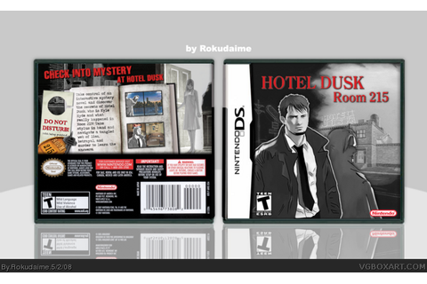 Hotel Dusk: Room 215 Nintendo DS Box Art Cover by Rokudaime