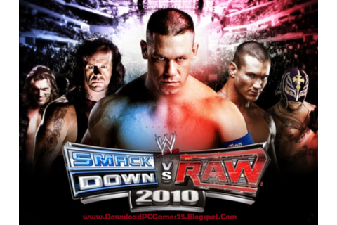 Download WWE Smackdown VS Raw 2010 Game - Download Free PC ...