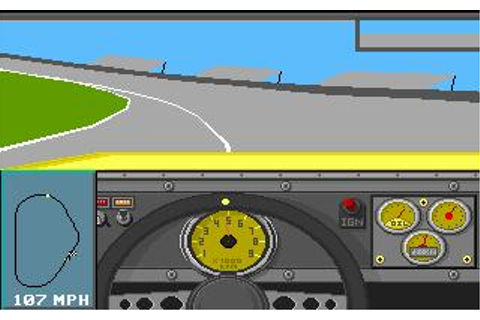 Mario Andretti's Racing Challenge Download (1991 Sports Game)