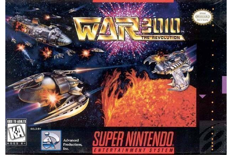 War 3010 - The Revolution ROM - Super Nintendo (SNES ...
