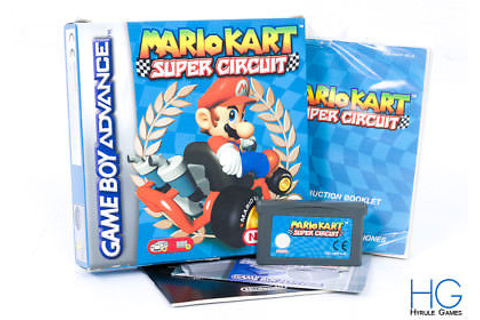 Mario Kart: Super Circuit Boxed - Nintendo Game Boy ...