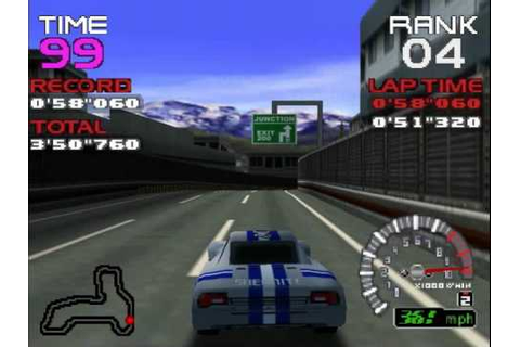 OVER 500 KPH! Ridge Racer 64 RT solvalou in Revolution ...