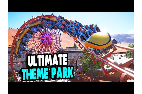 BEST BUILDING GAME, EVER | Roller Coaster & Theme Park ...