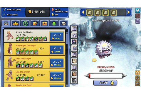 Ragnarok Clicker Review - MMO Square