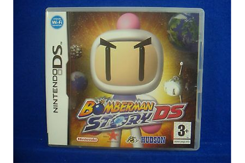 ds BOMBERMAN STORY DS Game RPG Adventure Lite DSi 3DS ...