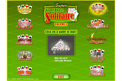 Super GameHouse Solitaire Game|Play Free Download Games ...