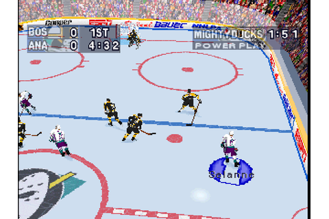 NHL Powerplay '96 – DEAD BALLS' Sports Video Game Reviews