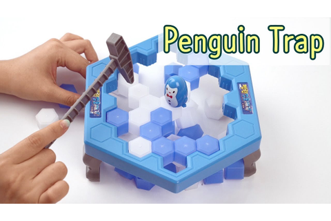 Penguin Trap Activate | Ice Breaker game | Don't Break the ...