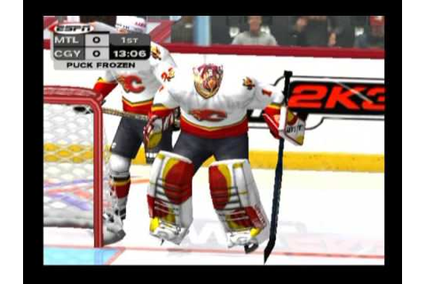 NHL 2K3 ... (PS2) - YouTube