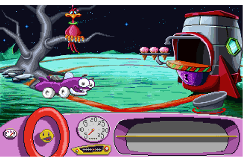 Putt-Putt Goes to the Moon game at DOSGames.com