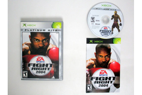 Fight Night 2004 game for Microsoft Xbox | The Game Guy
