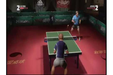Rockstar Games Presents Table Tennis - YouTube