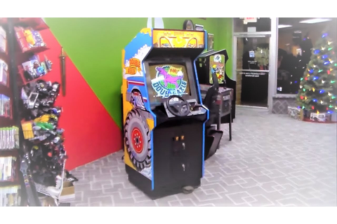Taito's 1991 Double Axle Dedicated Arcade Game Cabinet ...