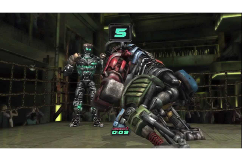Real Steel: Atom Vs. Metro (Xbox 360 Gameplay) - YouTube