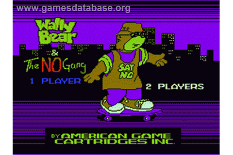 Wally Bear and the NO! Gang - Nintendo NES - Games Database