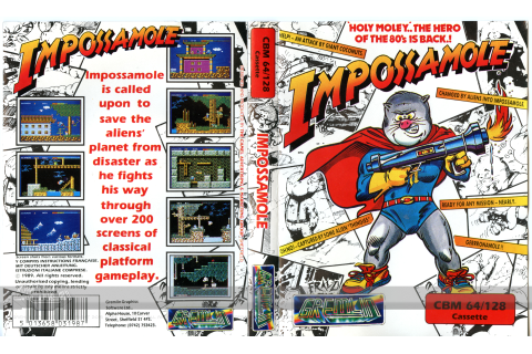 impossamole – The Gremlin Graphics Archive