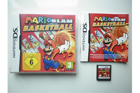 Mario SLAM Basketball Video Game Nintendo DS | eBay