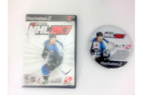 NHL 2K7 game for Sony Playstation 2 PS2 -Game & Case ...