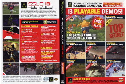 Image: Official Xbox Magazine Game Disc 13 - Computing History