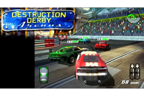 Destruction Derby Arenas ... (PS2) - YouTube