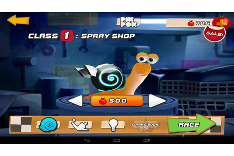 Dreamworks Turbo Fast, Snail Racing Class 1 Android Games ...