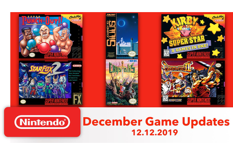 Nintendo Switch Online Adds New NES and SNES Games on ...