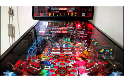 My Williams Rollergames Pinball machine (Full HD) - YouTube