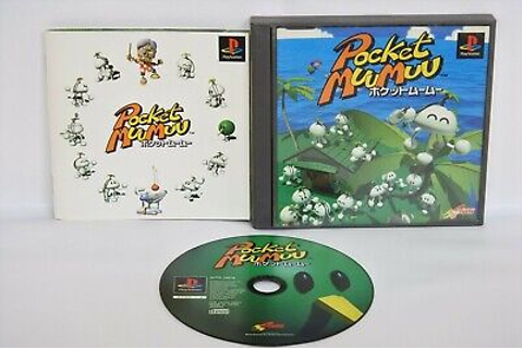 POCKET MUU Muu Ref ccc PS1 Playstation Japan Game p1 ...