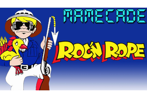 Roc 'n Rope Arcade Game - MAMECADE - YouTube
