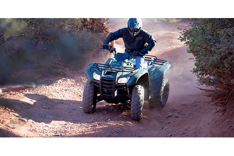2013 Honda FourTrax Rancher AT Review - Top Speed