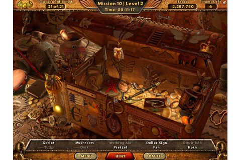 Amazing adventures the lost tomb hidden object game ...