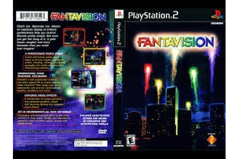 PS2 Fantavision (HD) (PCSX2) (60 fps) - YouTube