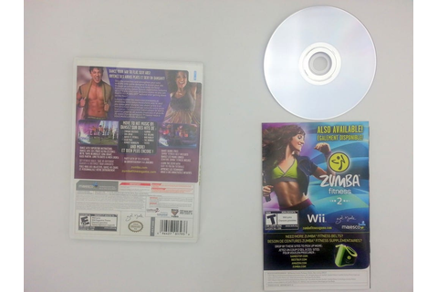 Zumba Fitness Core game for Nintendo Wii -Complete ...