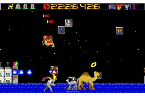 Revenge of the Mutant Camels Download (1994 Arcade action ...