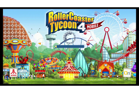 RollerCoaster Tycoon 4 Mobile su Qwant Games