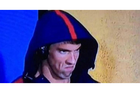 Michael Phelps' game face becomes viral meme - CBS News