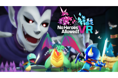 No Heroes Allowed! VR - Jetzt im PlayStation Store ...