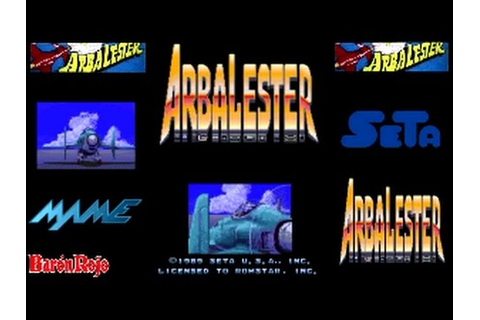Arbalester - Arcade - All Clear - 1CC - YouTube