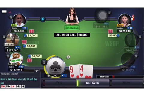 how to play world series of poker game - YouTube