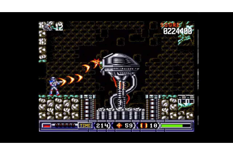 Turrican II: The Final Fight Longplay (Amiga) [50 FPS ...