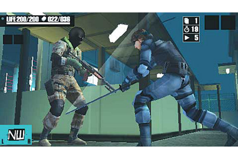 Metal Gear Acid Game | PSP - PlayStation