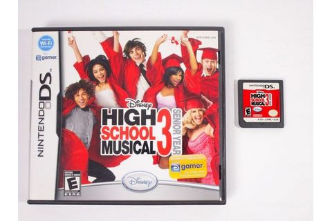 High School Musical 3 Senior Year game for Nintendo DS ...