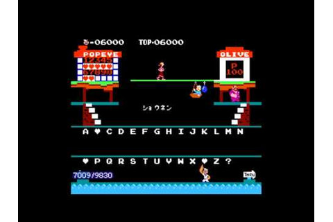 Popeye no Eigo Asobi (NES) TAS in 2:43.56 - YouTube