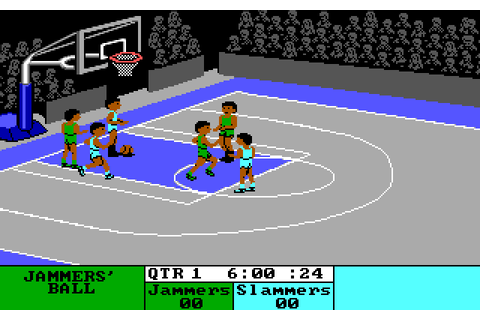 Fast Break (1988) by Accolade MS-DOS game