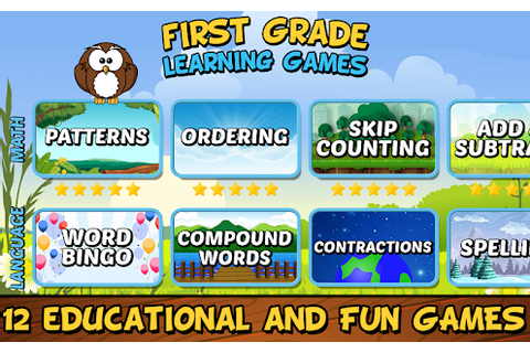 First Grade Learning Games - Android Apps on Google Play