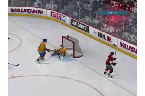 NHL 06 Gameplay - YouTube